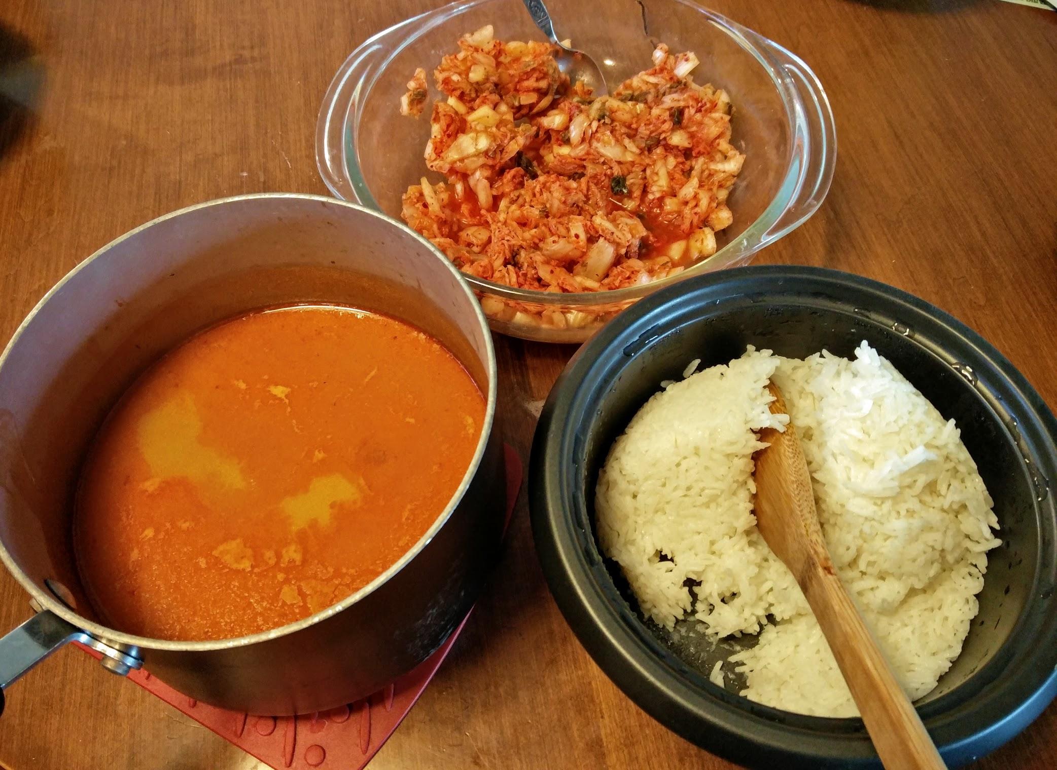 Creamy Kimchi Stew